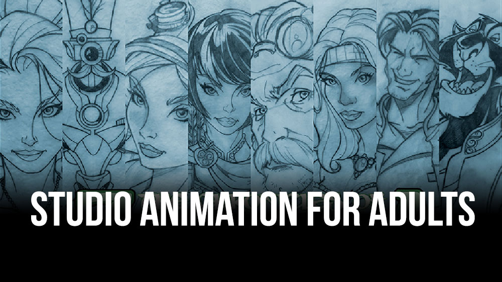Details of our new Studio Animation for Adults Class