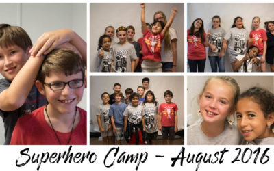 Superhero Camp 2016