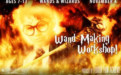 Wand Making Workshop!