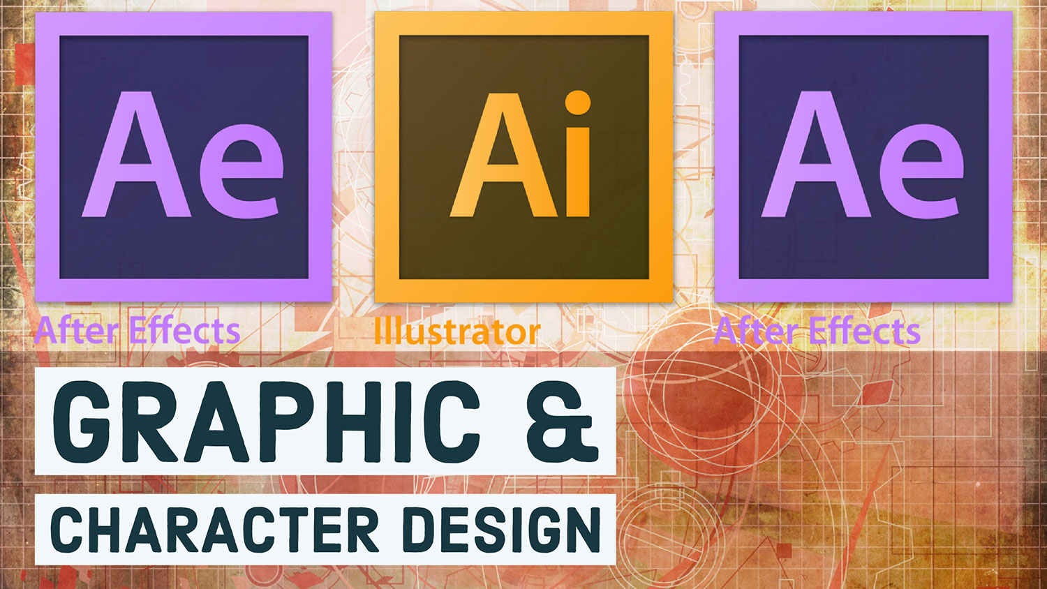 Details of our classes in Graphic and Character Design using Adobe Creative Cloud